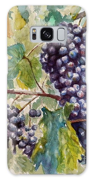 Wine Grapes Galaxy Case by William Reed