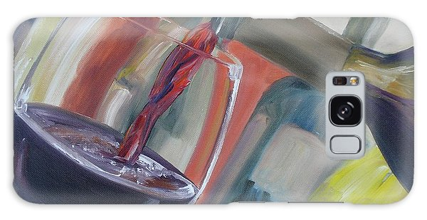 Wine Pour Galaxy Case by Donna Tuten