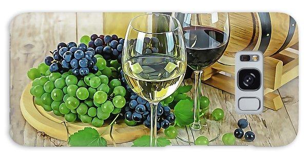 Galaxy Case featuring the painting Wine Tasting by Harry Warrick