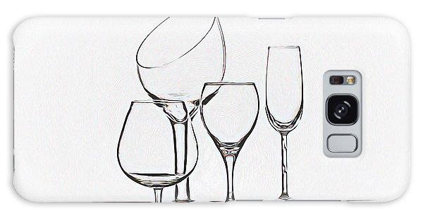 Glass Galaxy Case - Wineglass Graphic by Tom Mc Nemar