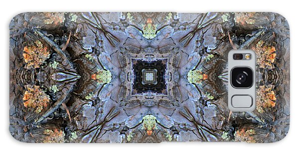Winged Creatures In A Star Kaleidoscope #2 Galaxy Case