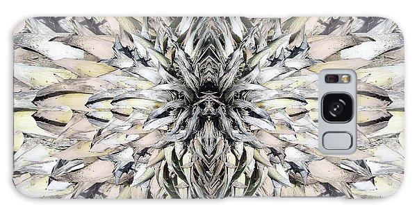 Winged Praying Figure Kaleidoscope Galaxy Case
