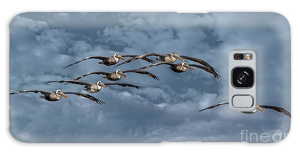 Wings In Formation Galaxy Case