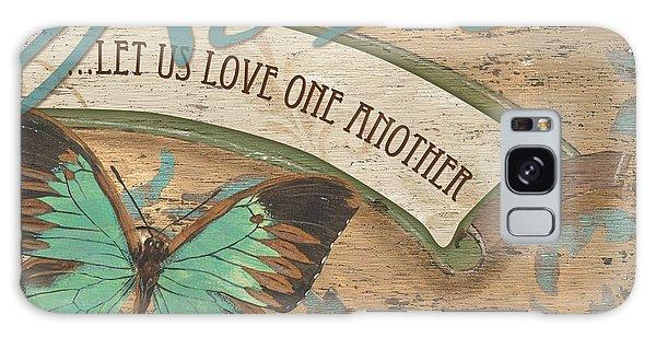 Outdoor Galaxy Case - Wings Of Love by Debbie DeWitt