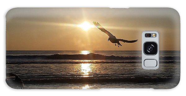 Wings Of Sunrise Galaxy Case