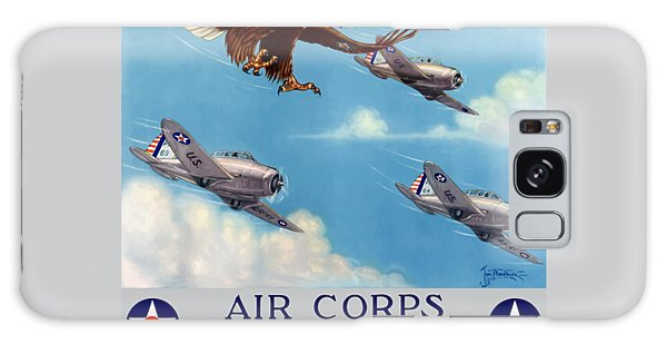 Americana Galaxy Case - Wings Over America - Air Corps U.s. Army by War Is Hell Store