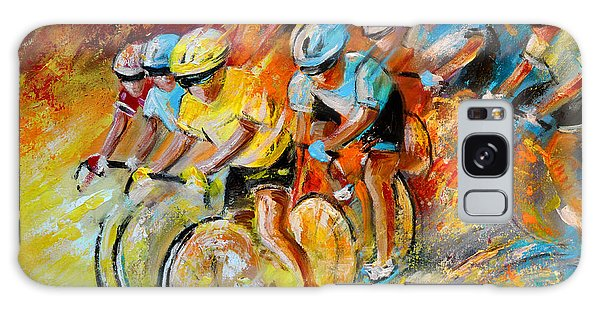 Winning The Tour De France Galaxy Case