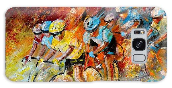 Winning The Tour De France Galaxy Case