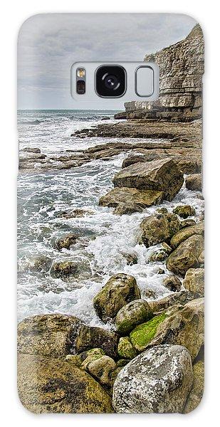 Winspit Cove In Dorset Galaxy Case