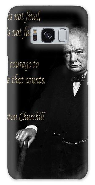 Winston Churchill 1 Galaxy Case