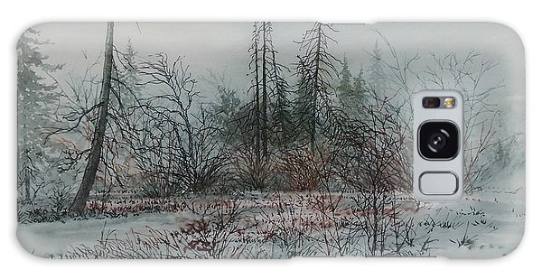 Winter, Alberta Galaxy Case