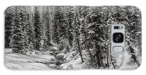 Winter Alpine Creek II Galaxy Case