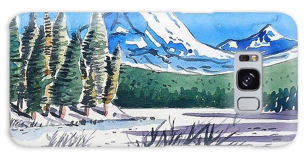 Winter At Mt. Lassen Galaxy Case by Terry Banderas