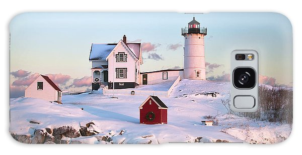 Winter At Nubble Galaxy Case