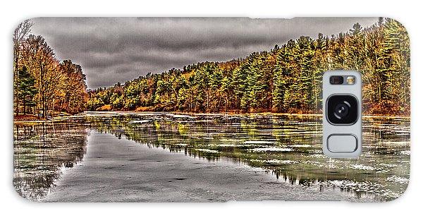 Winter At Pine Lake Galaxy Case
