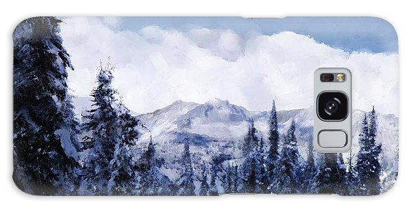 Winter At Revelstoke Galaxy Case