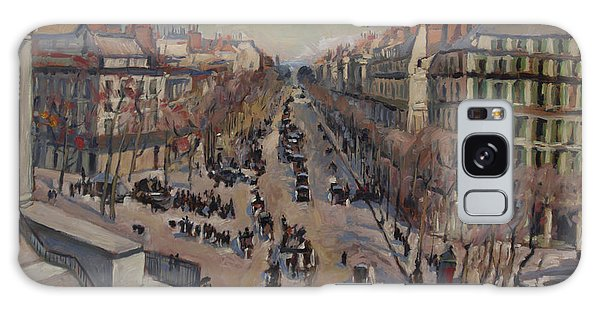Briex Galaxy Case - Winter At The Boulevard De La Madeleine, Paris by Nop Briex