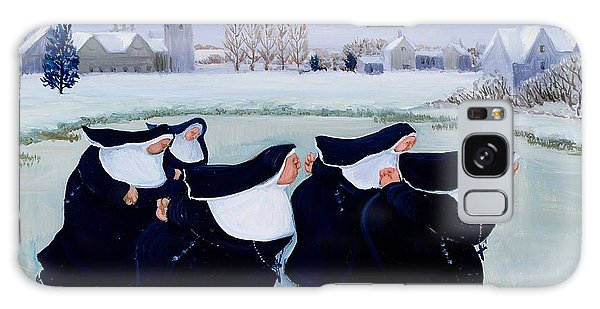 Ice Galaxy Case - Winter At The Convent by Margaret Loxton