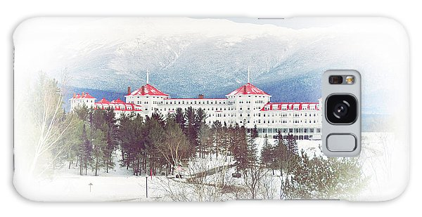 Winter At The Mt Washington Hotel 2 Galaxy Case