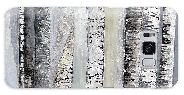 Winter Birches Galaxy Case