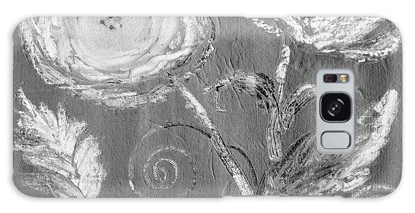 Galaxy Case featuring the digital art Winter Bloom II by Robin Maria Pedrero