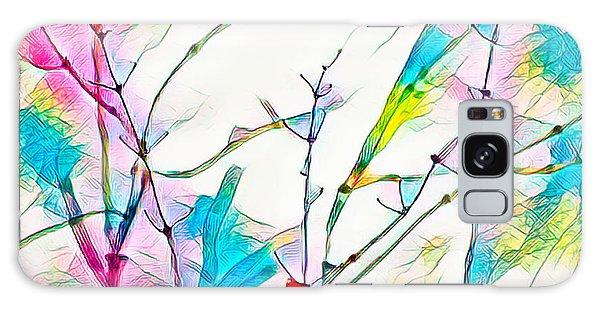 Winter Branch Colors Galaxy Case