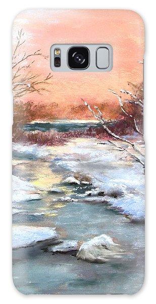 Winter Brook Galaxy Case by Jack Skinner