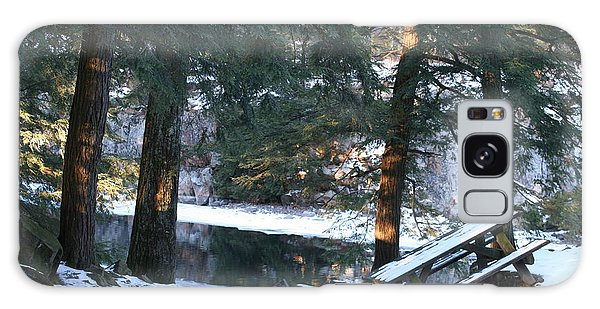 Galaxy Case featuring the photograph Winter Calm by David Barker