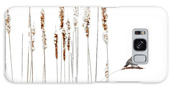 Winter Came Suddenly Galaxy Case by Andrea Kollo