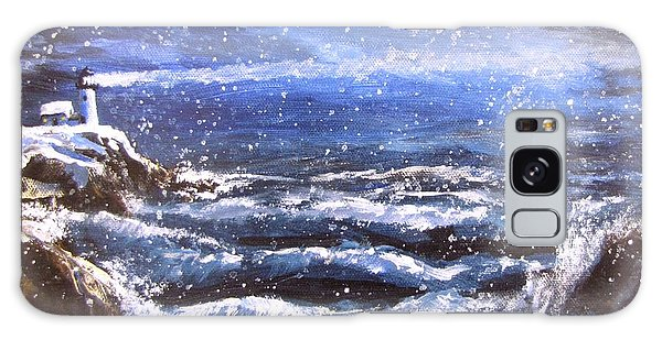 Winter Coastal Storm Galaxy Case by Jack Skinner