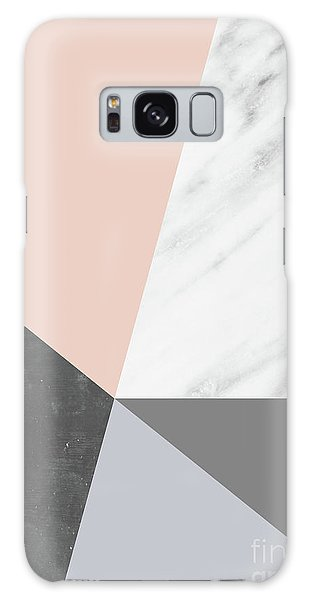 Winter Colors Collage Galaxy Case
