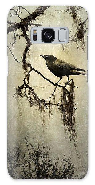 Winter Crow Galaxy Case