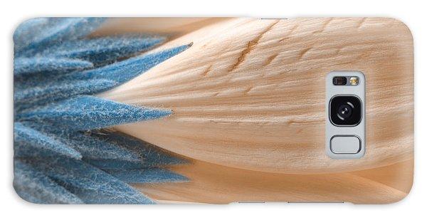Winter Daisy Macro Galaxy Case by Nicolas Raymond