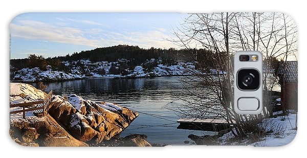Winter Day By The Oslo Fjords, Norway.  Galaxy Case