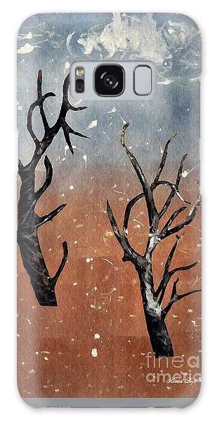 Winter Day Galaxy Case by Sarah Loft