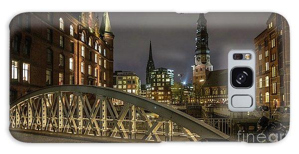 Winter Evening In Hamburg  Galaxy Case