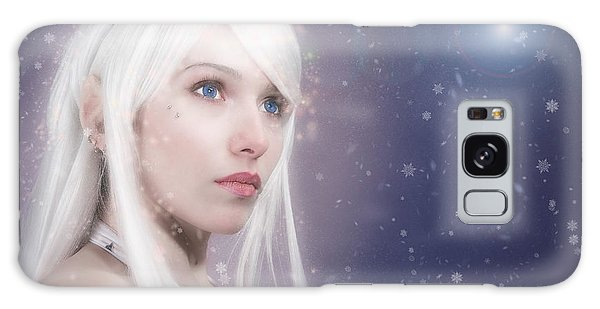 Winter Fae Galaxy Case