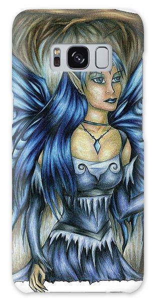 Winter Fairy Drawing Galaxy Case