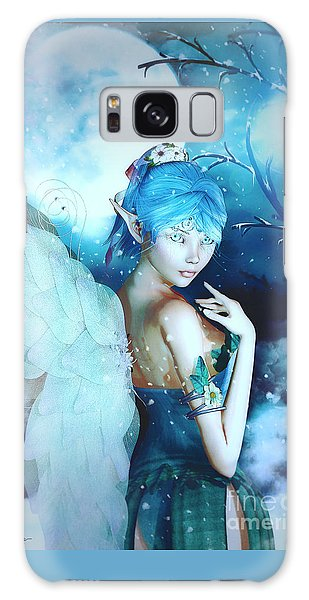 Winter Fairy In The Mist Galaxy Case