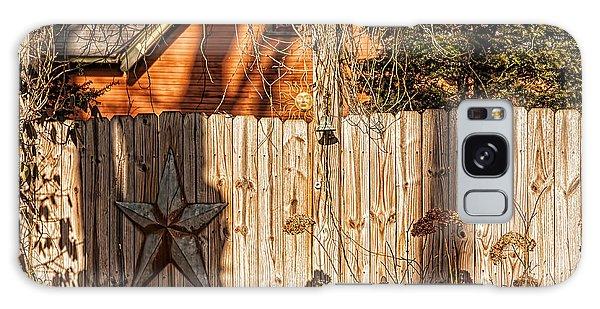 Winter Fence Galaxy Case