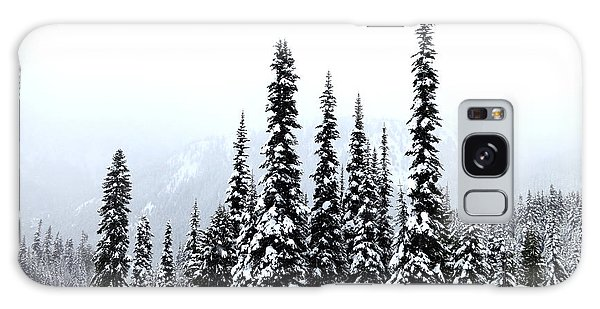 Winter Firs Galaxy Case by Tanya Searcy