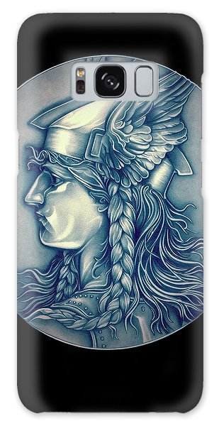 Winter Goddess Of Gaul Galaxy Case by Fred Larucci