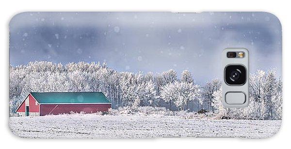 Winter Grey County Galaxy Case