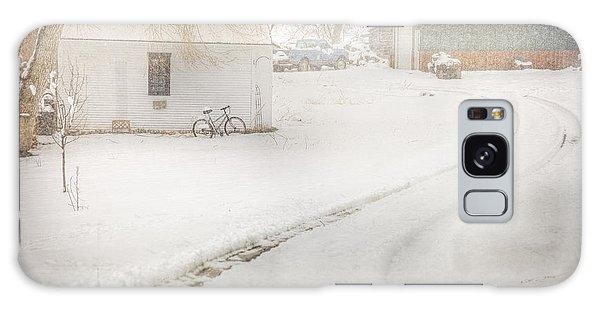 Winter Home Road Galaxy Case