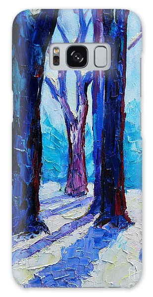 Winter Impression Galaxy Case by Ana Maria Edulescu