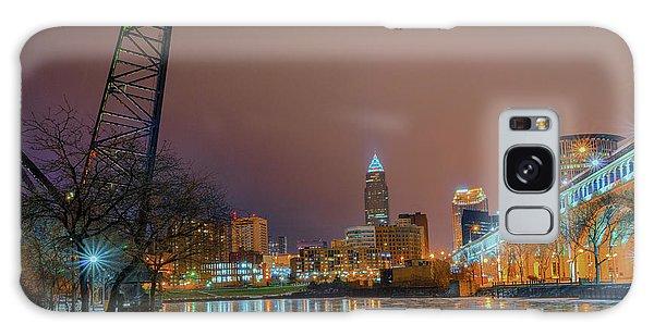 Winter In Cleveland, Ohio  Galaxy Case