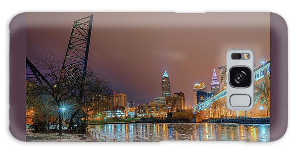 Winter In Cleveland, Ohio  Galaxy Case