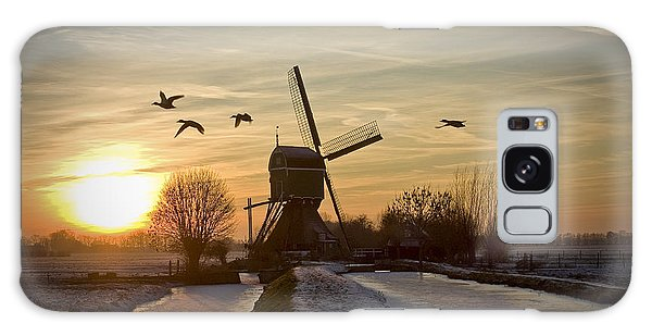 Winter In Holland-2 Galaxy Case