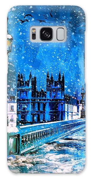 Winter In London  Galaxy Case