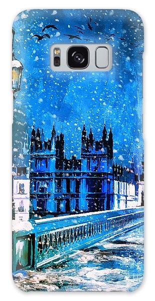 Winter In London  Galaxy Case